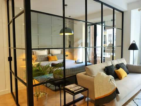 Новая квартира в Гросе, в 1 минуте ходьбы от Centro