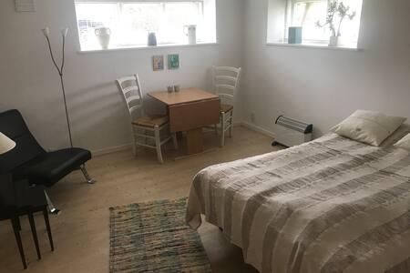 Hyggeligt værelse nær centrum