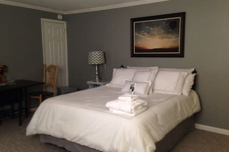 Private Space w/ Separate Entrance & Keyless Entry - Greensboro