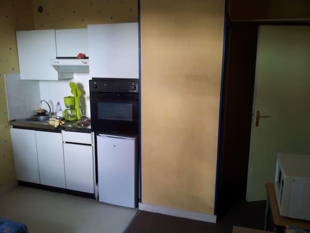 Studio calme coté cours 4e étage - Brest - Apartment