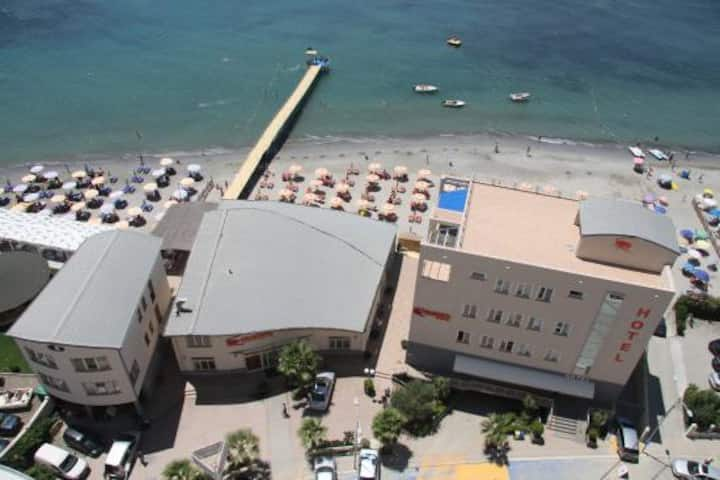 Aragosta Hotel - SeaView Deluxe Suite with Balcony