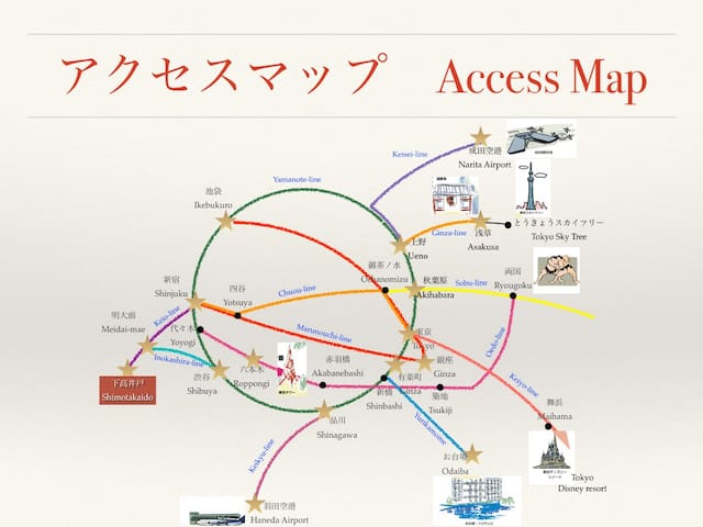 [2Bikes+WiFi]Eazy access to Shibuya,Shinjuku,Takao - Suginami-ku - Lägenhet