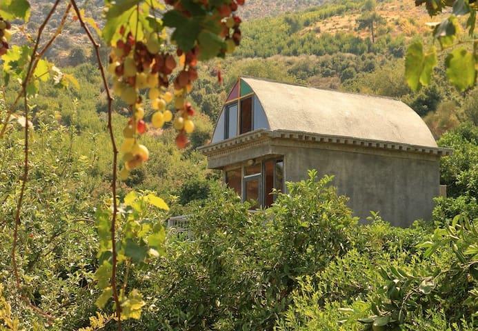Lykia rock tomb's house