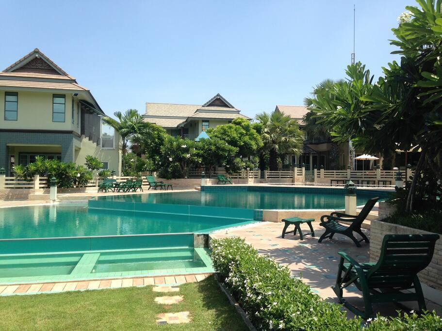 3 Level Swimming pool