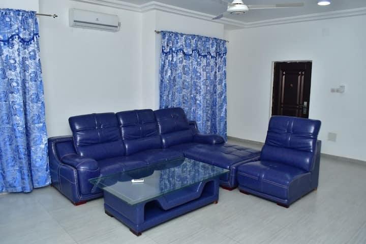 Appartement meublé chambre et salon,  agoe anome