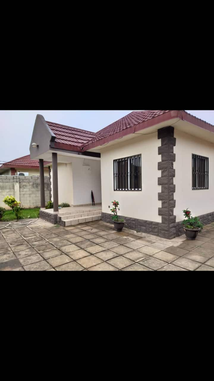 Modern 3 bedroom bungalow in Brufut Gardens Gambia