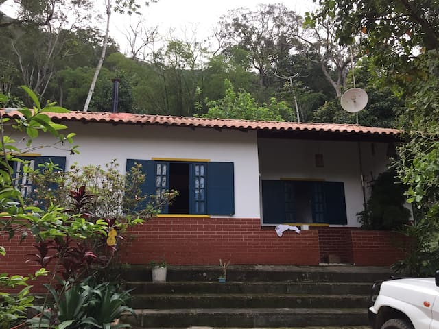 House in the forest close to Rio de Janeiro