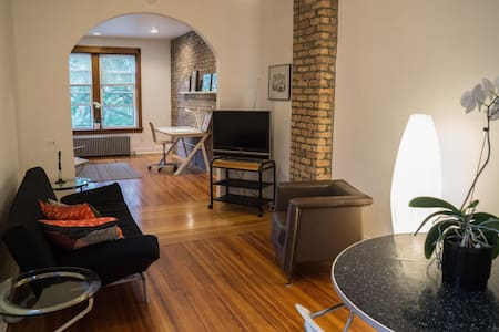 Artsy Open Space Apt in Lakeview - Graceland West - 시카고