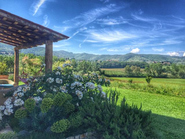 Sunset view retreat with pool 4 wine lovers - Paciano - Apartament