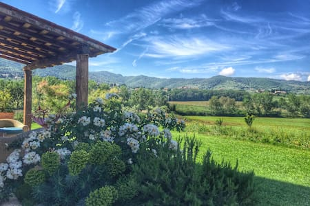 Sunset view retreat with pool 4 wine lovers - Paciano - Lakás
