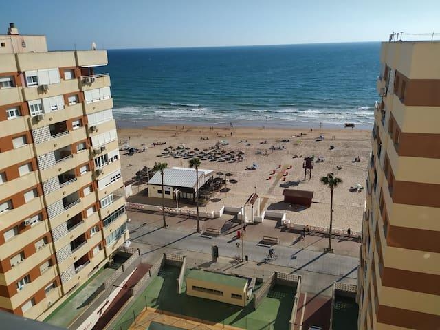 Habitación con vista al mar en Cádiz