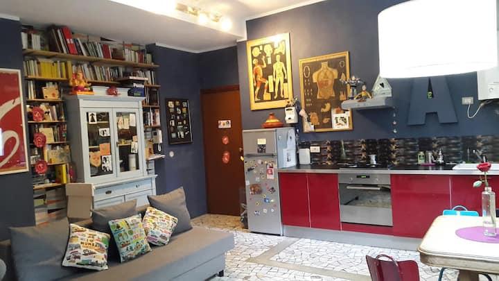 Lovely designer's Flat in Milan