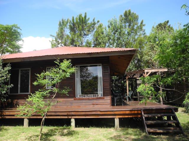 acogedora cabaña en La Pedrera