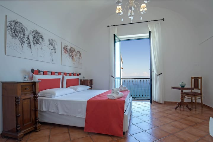 Casa Bettina, Amalfi Coast [Seaview, AC & WiFi] - Vietri sul Mare  - House