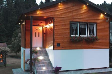 "Holiday Cottage ""Lujzijana"" with garden+streamlet"
