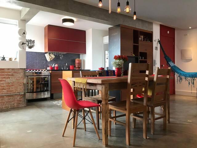 Apartamento lindo, funcional e contemporâneo