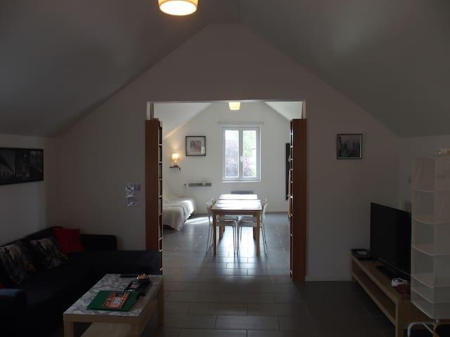 Modernes Loft  mit garten (20min von Straßburg)