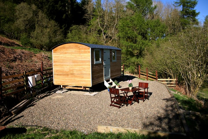 Monstay Farm Shepherd Hut near Ludlow