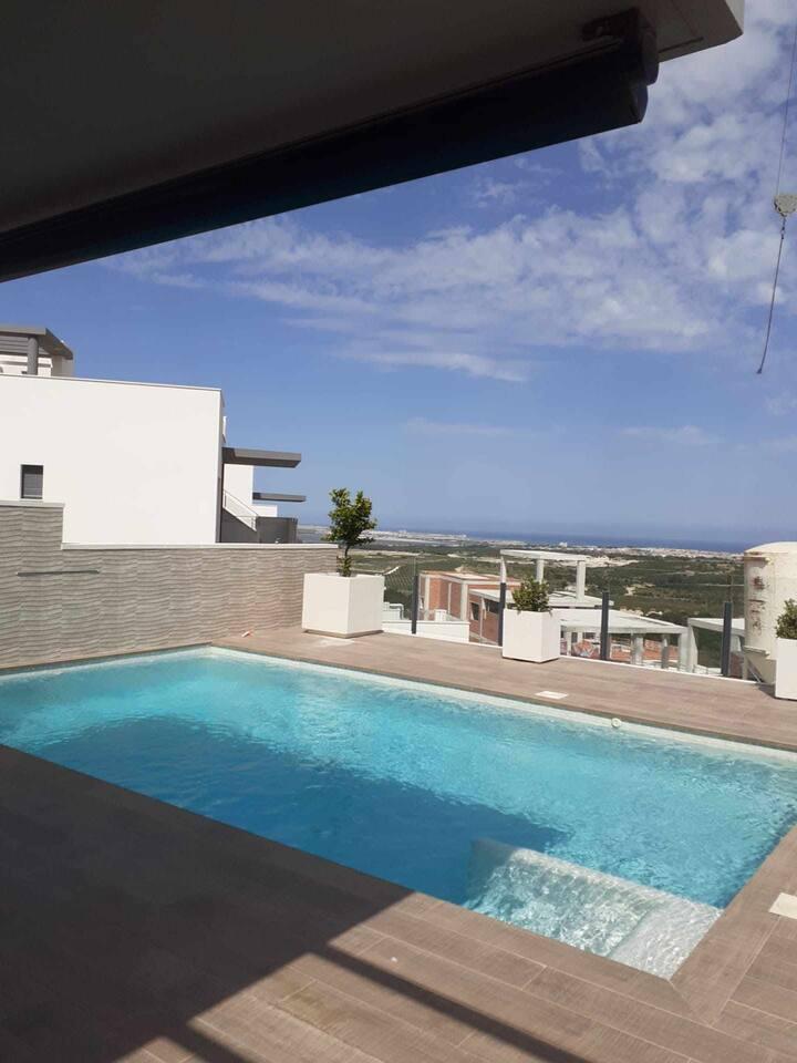 villa with pool Golf san miguel de salinas