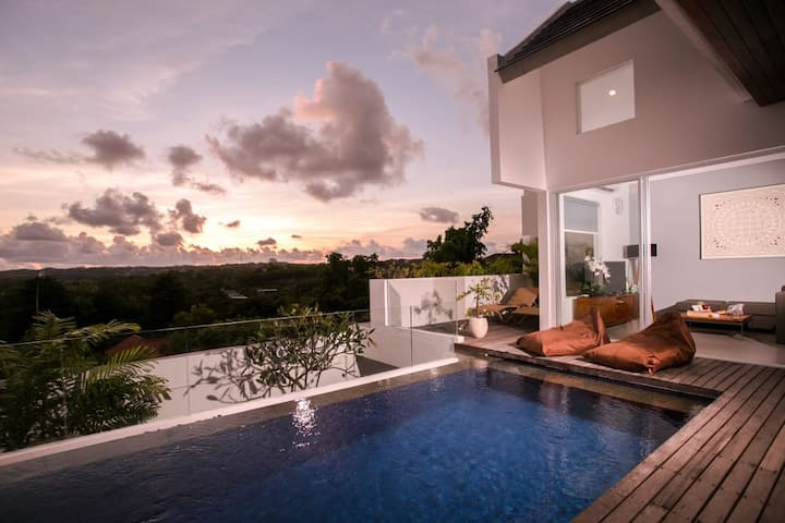 Villa Lovely Ungasan Bali Villas For Rent In South Kuta Bali Indonesia