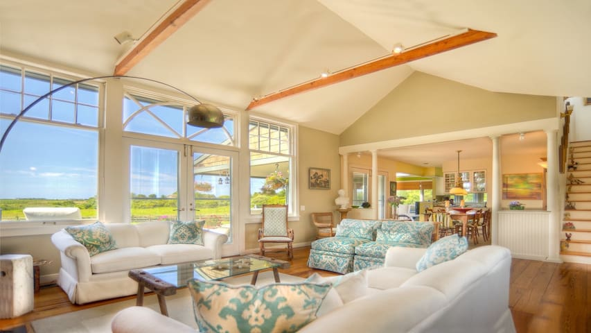 Country Charm With Stunning Views Off Mecox Bay - Water Mill - House