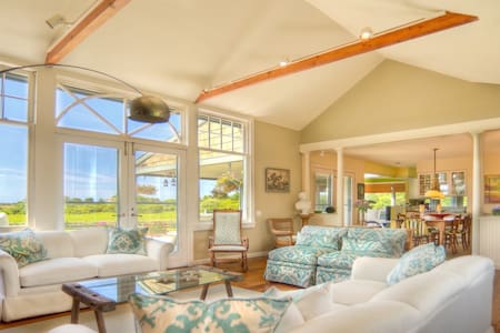 Country Charm With Stunning Views Off Mecox Bay - Water Mill
