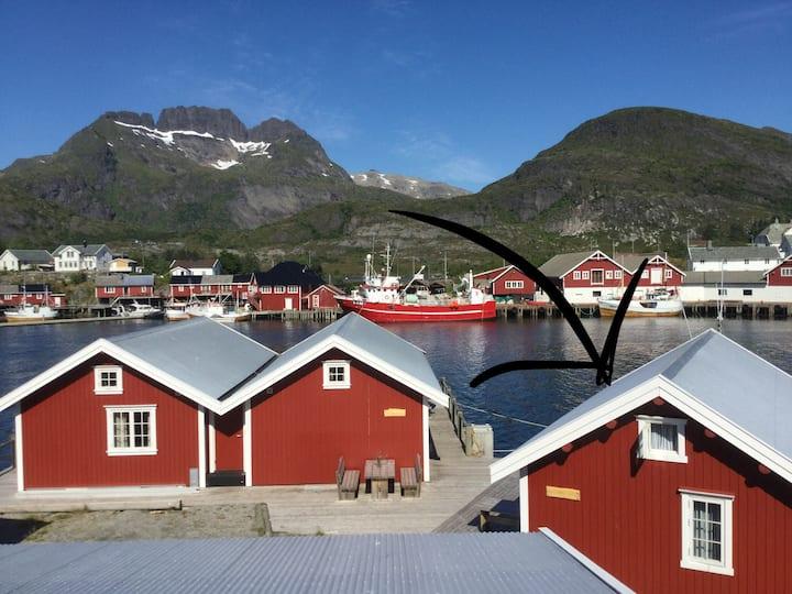 Rorbu (cabin) in Sørvågen, Lofoten