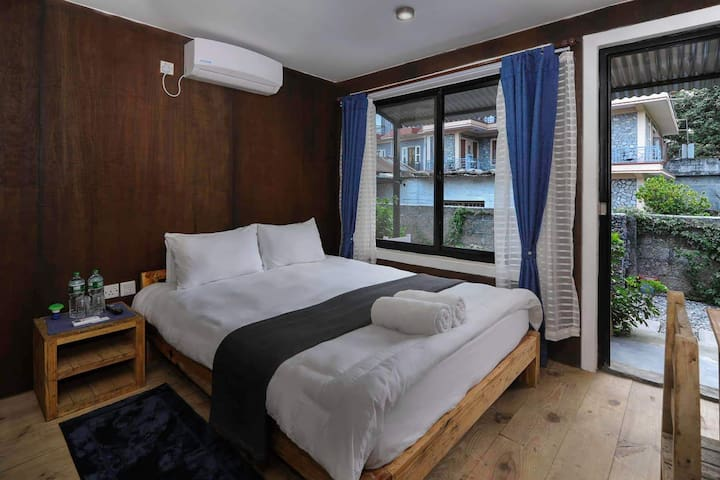 RanaCottage -1 -Double bed (1XQueen Size) room-A/C