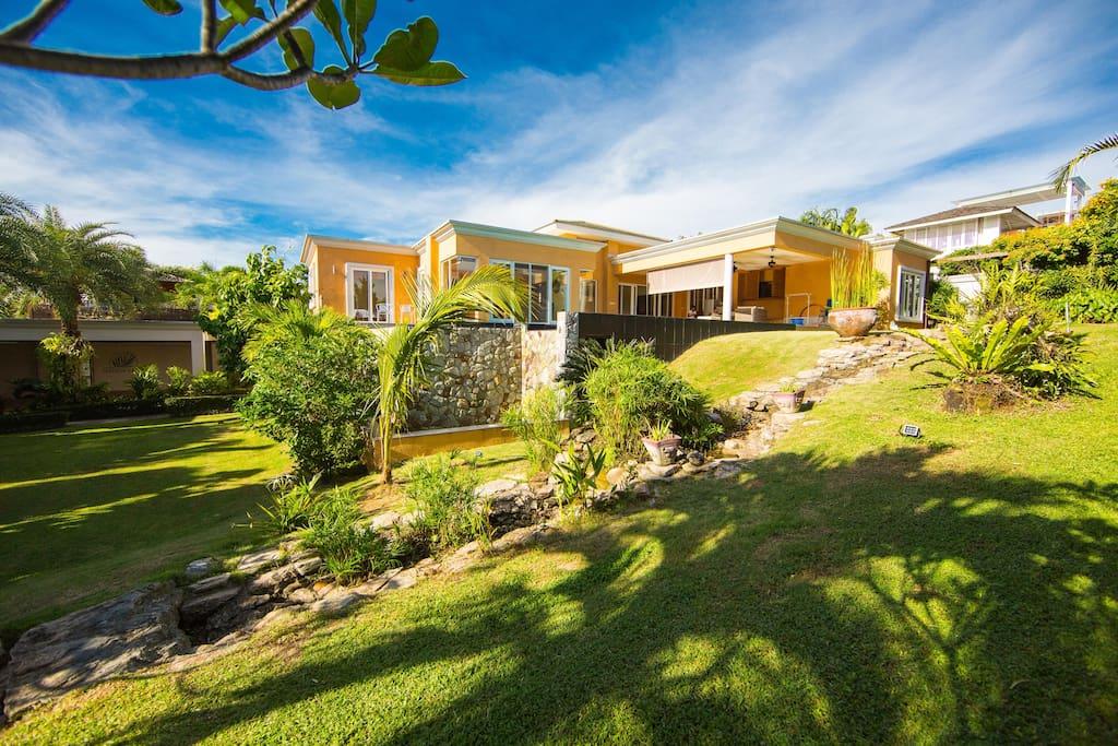 500平方的院子拥有各种景观