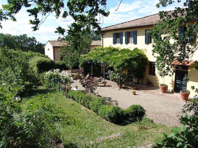Villa San Giovanni Oasis in the Florentine Chianti