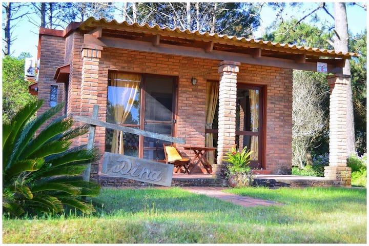 Cabaña Dina, para 2 personas en La Paloma, Rocha