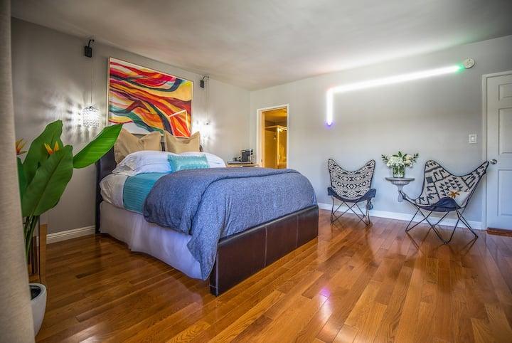 Cali Dreamin Beach Studio, Private Entry/LAX