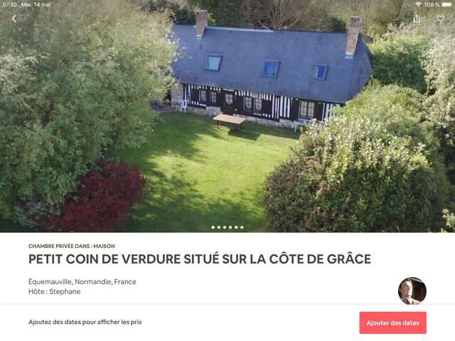 PETIT COIN DE VERDURE SUR LA CÔTE DE GRÂCE