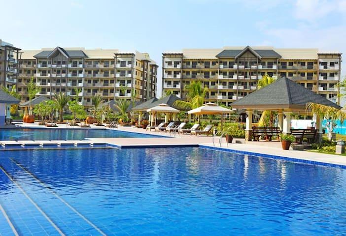 2br Condo By Airport Wifi Resort Facilities Condominiums For Rent In Para Aque Metro Manila