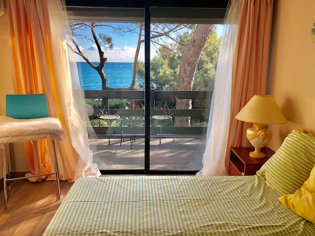 Sea view guest house with terrace Cap D'Antibes!