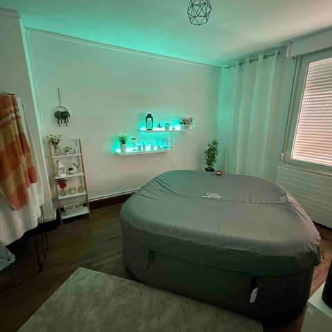 Apartment with Jacuzzi in the center of Dunkirk
