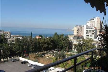 Sunny Sea View Apartment Jounieh,18min from Beirut - Jounieh - 公寓