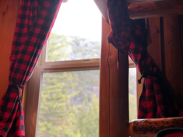 Bedroom #3 Mountain window view