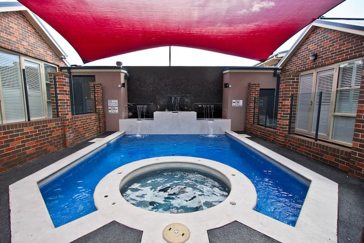 Jesmond Villas :  One Bedroom Spa