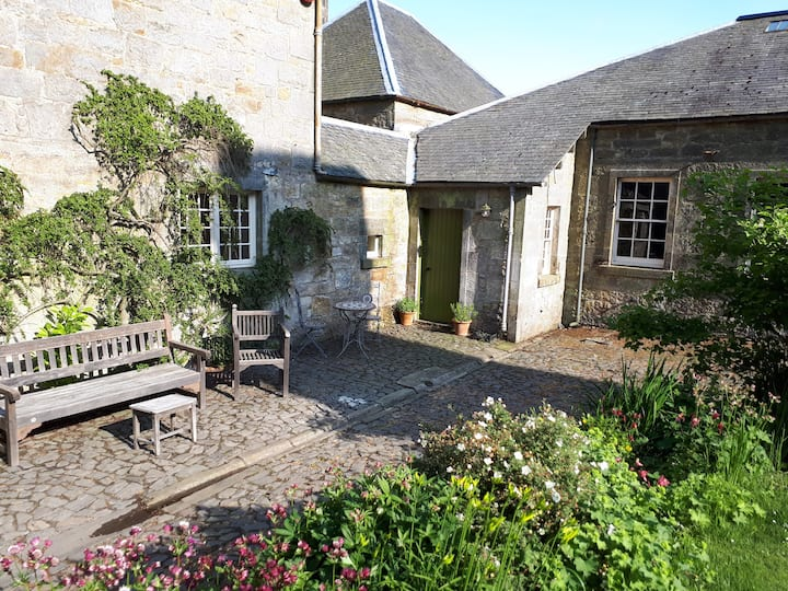 Sleep in country house comfort. Double bed-sit.