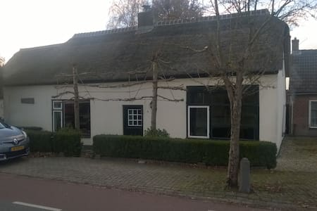 Farmer house (1880) and also bird asylum - Zijderveld