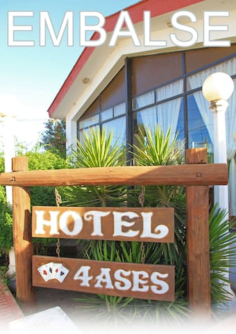 Dpto 2 dormitorios en Hotel 4 Ases