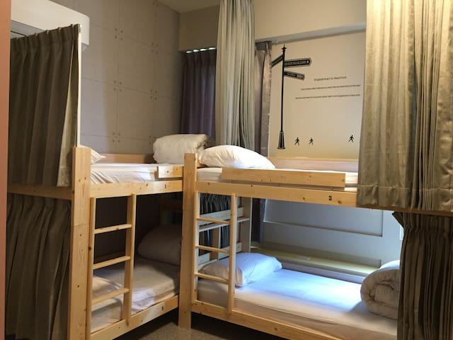 ([溫馨背包房,按床位計價]6人女生宿舍-須共用衛浴)二