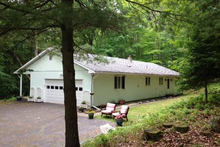 Comfortable woodland home in Corning suburb - Painted Post