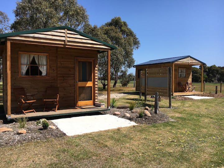 Eco Glamping cottages
