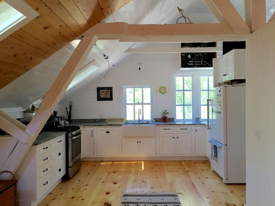 Kitchen renovation completed in summer 2016