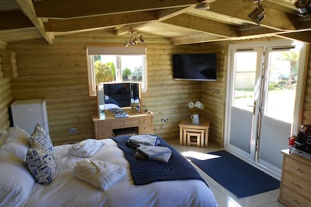 LUXURY LOG CABIN - Carbis Bay - 公寓