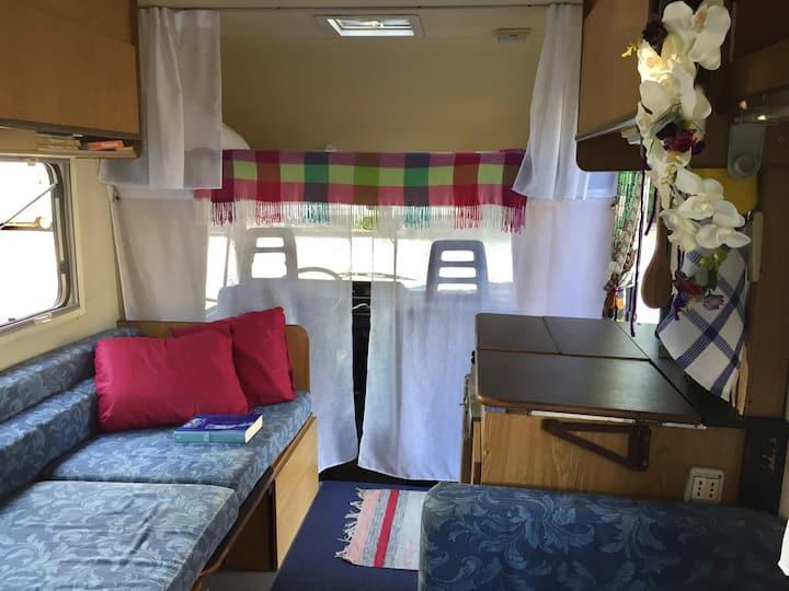 Cesenatico - Pretty Vintage Camper!