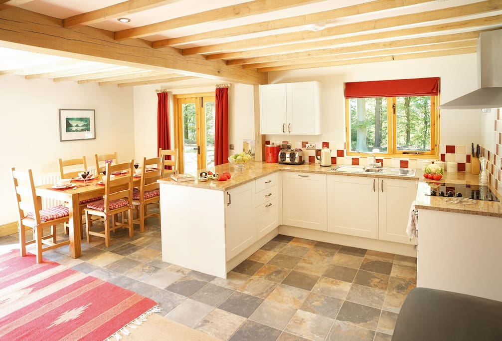 Ground floor: Open plan kitchen, dining and sitting room