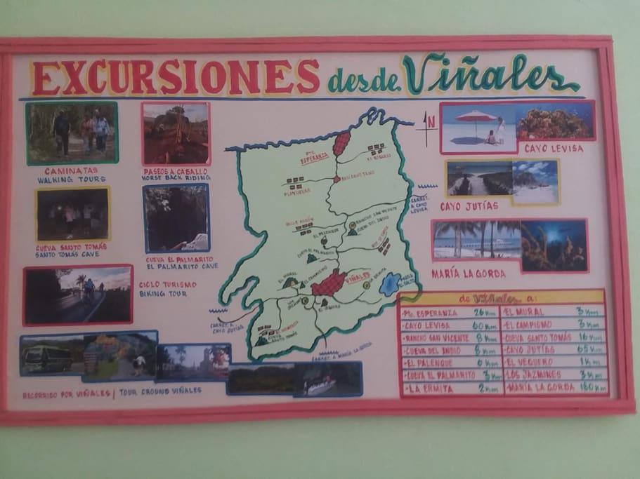 Excursions board